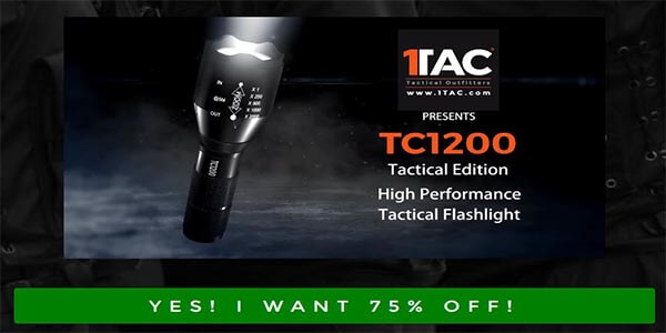 Buy Military Tactical Flashlight