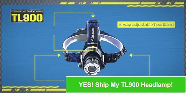 Order TL900 Headlamp