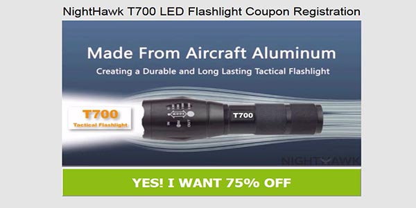 Get Nighthawk Flashlight