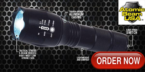 Order Atomic Beam Flashlight Now