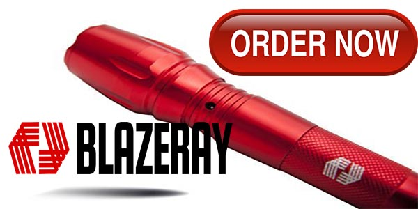 Order Blazeray Flashlight