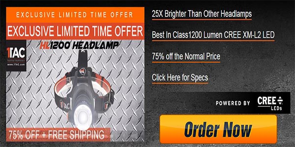 Order HL 1200 Headlamp