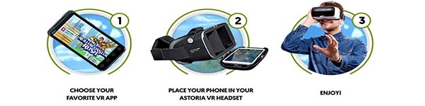How to Use Astoria VR