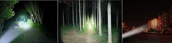 2000 Lumen Flashlight Brightness