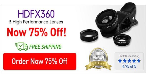 Buy HDFX360 Lens Now