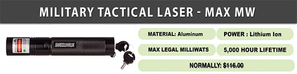What is Military Tactical Laser