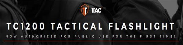 1Tac Flashlight Military Style