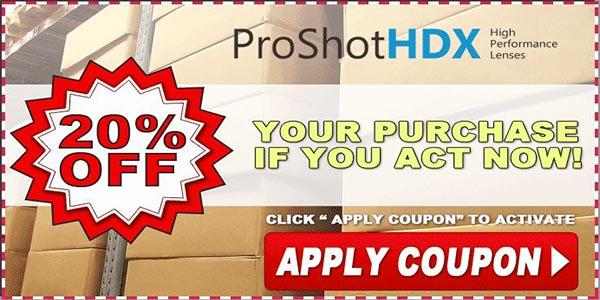 ProShot HDX Discount Offer