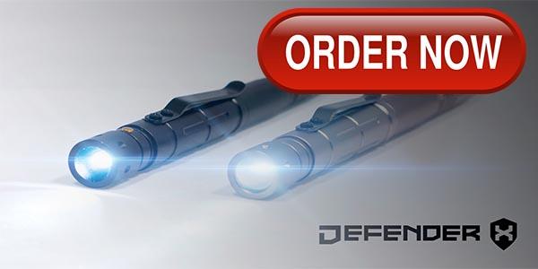 Order Defender X Tactical Pen